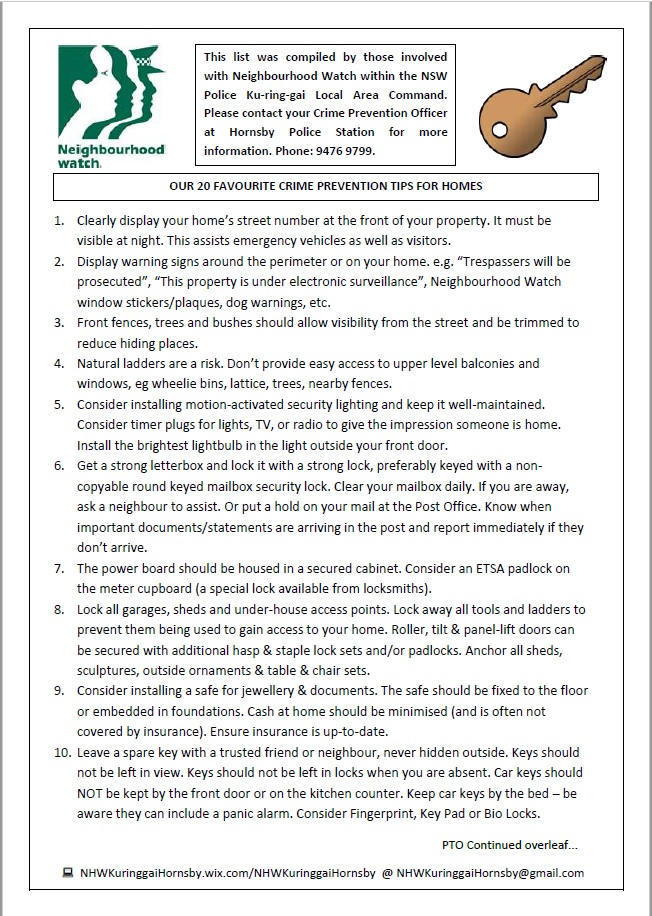 20 Tips Homes pg 1