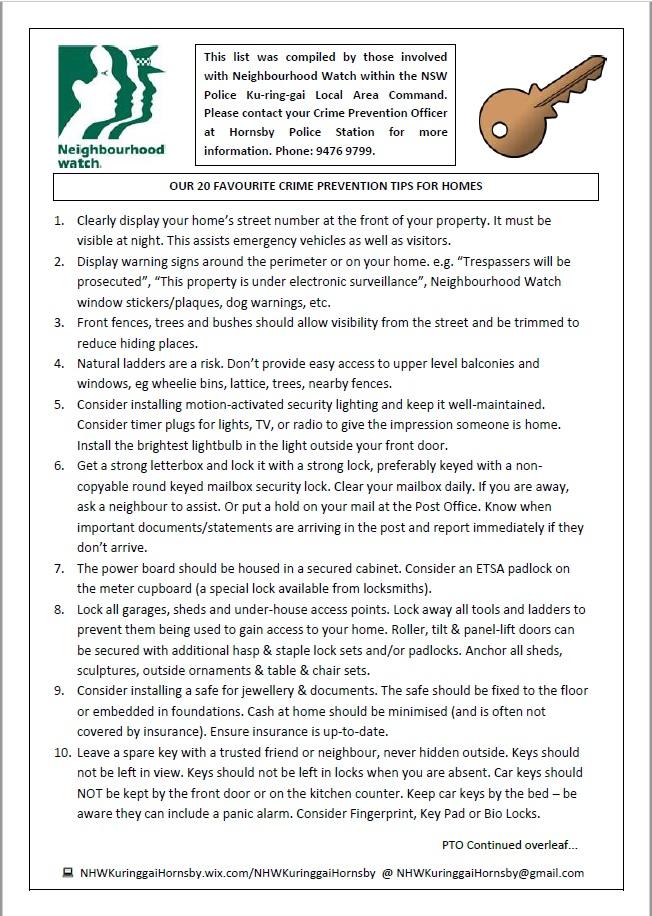 20 Tips Homes pg 1