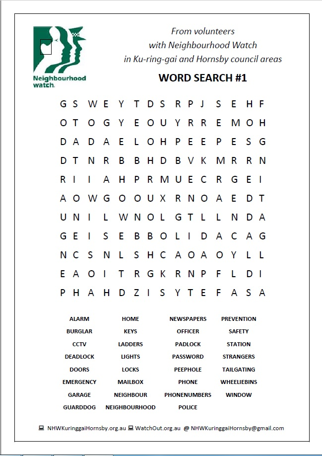 Word Search #1